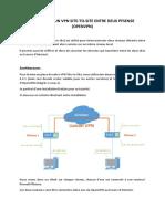 VPN Site to Site avec pfsense
