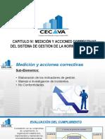 Capitulo IV- Medición y Acciones Correctivas Del Sistema de Gestión de La Norma Ohsas 180012007