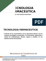 Tecnologia Farmaceutica Calor