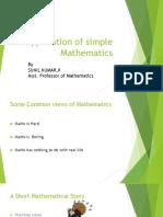 Application of simple Mathematics.pptx