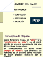 TRANSMISIÓN DE CALOR