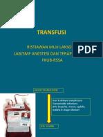 17. TRANSFUSI WAWAN