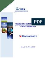 Abs. de Observaciones a La Propuesta SICORE Electrocentro