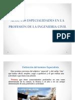 Especialidades de La Ingenieria Civil PDF