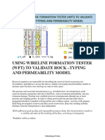 Using Wireline Formation Tester