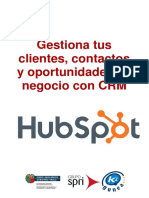 Gestiona tus clientes - Hubspot