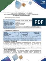 Guía de Actividades y Rúbrica de Evaluación Tarea 1_Introducción a Los Procesos Químico Industriales. (1)