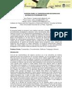 Principios y Procesos Para La Construcción de Espacios Escénicos Posdramáticos