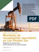 Monitoreo Recuperacion Secundaria Los Perales Field