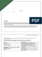 IT Risk Governance Checklist v2.0