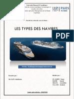 Rapport Les types des navires.docx