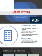 Report Writing 7Dec2018