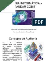 Auditoría Infirmática y Estándar CobIT