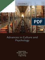 Michele J. Gelfand, Chi-yue Chiu, Ying-yi Hong-Advances in Culture and Psychology_ Volume 1-Oxford University Press, USA (2010)