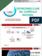 1 Definiciones Clave Curriculo Nacional Callao World Vision 040819 Final (1)