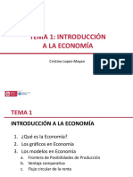 Tema 1 Introduccion Economia