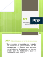 Presentación AFP