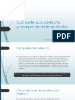 Competencia Perfecta y Imperfecta