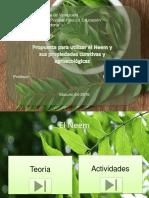 Diapositiva del neem