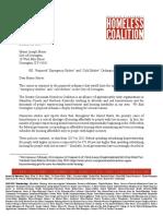 Greater Cinti Homeless Coalition Response