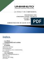 Componentes de La Célula Diapositivas