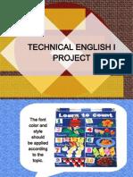 English Project TE1