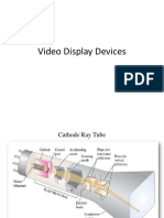 Video Display Devices(Crt)