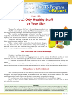00161--HealingHabit23-Put Only Healthy Stuff on Your Skin