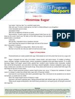 00147 HealingHabit21 Minimize Sugar