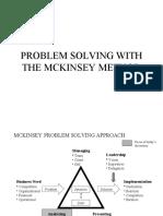Problem Solving With McKinsey Method