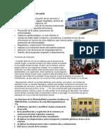 Funciones Centro de Salud