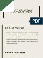 Modelo Projeto Pesquisa