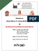 Siddeswara krupa