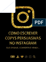 E-book Instagram Copys