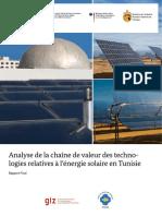 Chaîne de Valeur Solaire en Tunisie