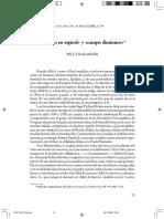 BARANGER, W. Proceso en espiral y campo dinámico