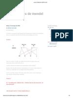 Leyes de Mendel_ Ejercicios