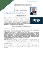 Presentación Profesional Luis Chacón