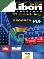 Programa de fiestas LIBORI