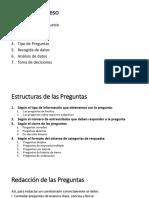 Fases para desarrollar un cuestionario