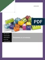 Programa de Actividades 18 19