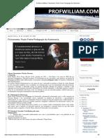 Fichamento_ Paulo Freire Pedagogia Da Autonomia