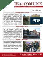 Notizie Dal Comune di Borgomanero del 26-10-2019