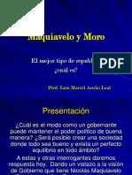 Maquiavelo y Moro Clase 4