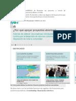 Goteo Ofrece La Posibilidad de Financiar Un Proyecto a Través de Microaportaciones de Personas Afines a Tu Idea