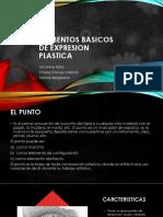 elementos basicos de expresion plastica