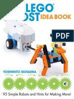 Isogawa Yoshihito the Lego Boost Idea Book 95 Simple Robots