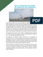 Aeropuerto Teniente Fap Jaime Montreuil Morales de Chimbote