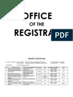 Registrar Services - Aparri
