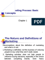Chapter 1 the Marketing Process Basic Concepts (1)